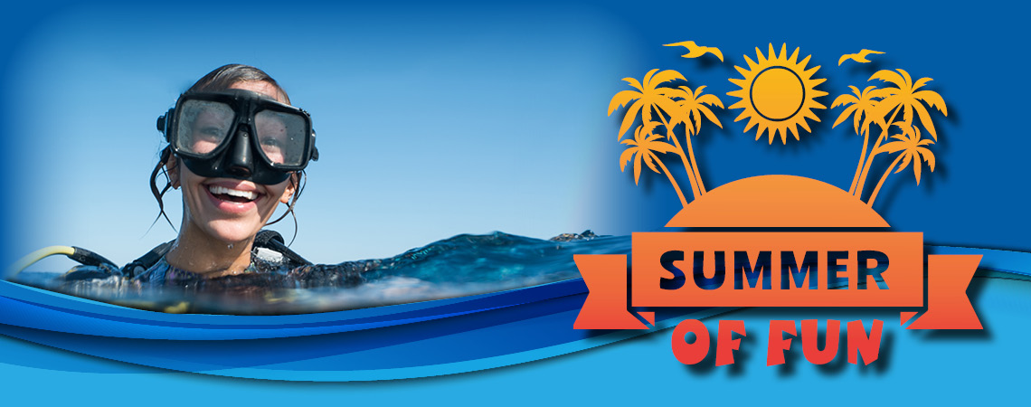 Summer of fun page banner